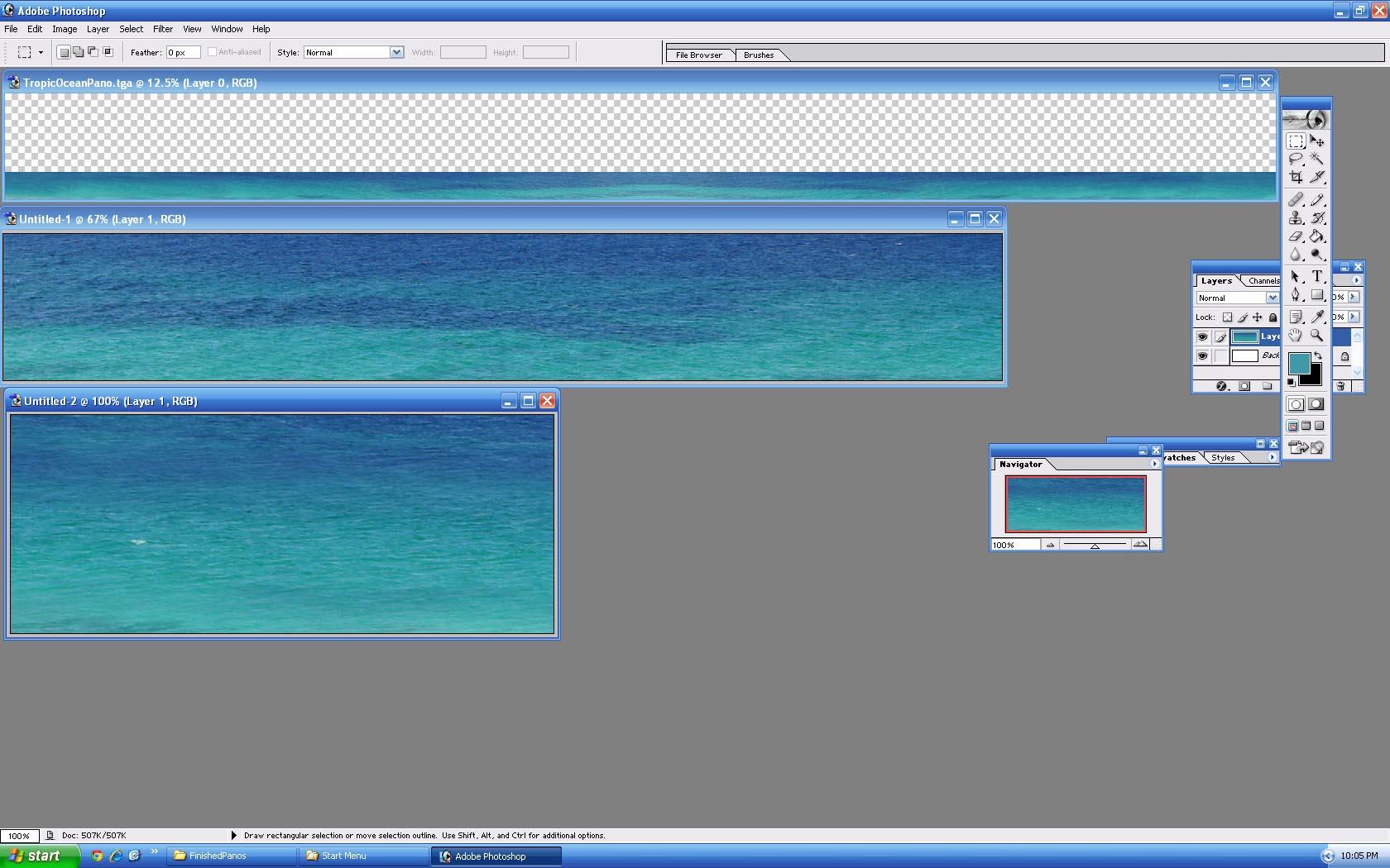 Picture of TropicOceanPano - click to view original size