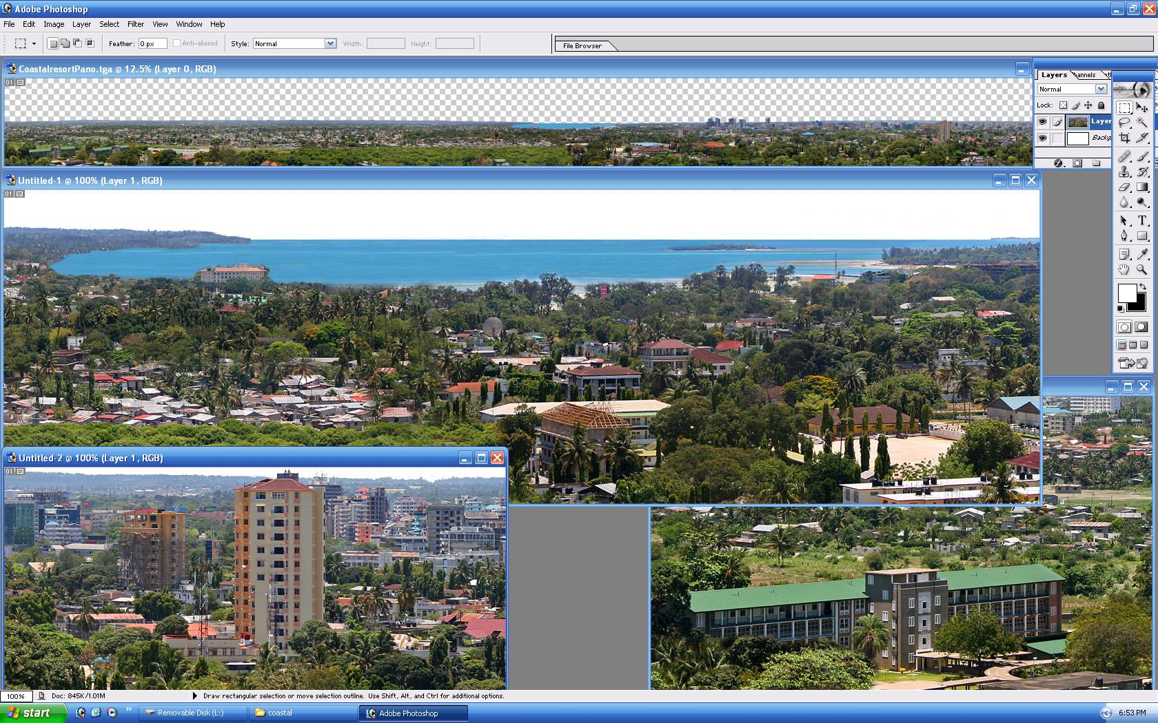 Picture of CoastalResortPano - click to view original size